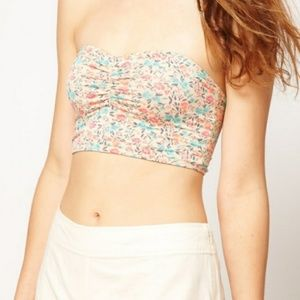 S Intimately Free People Floral Bandeau Bra Top